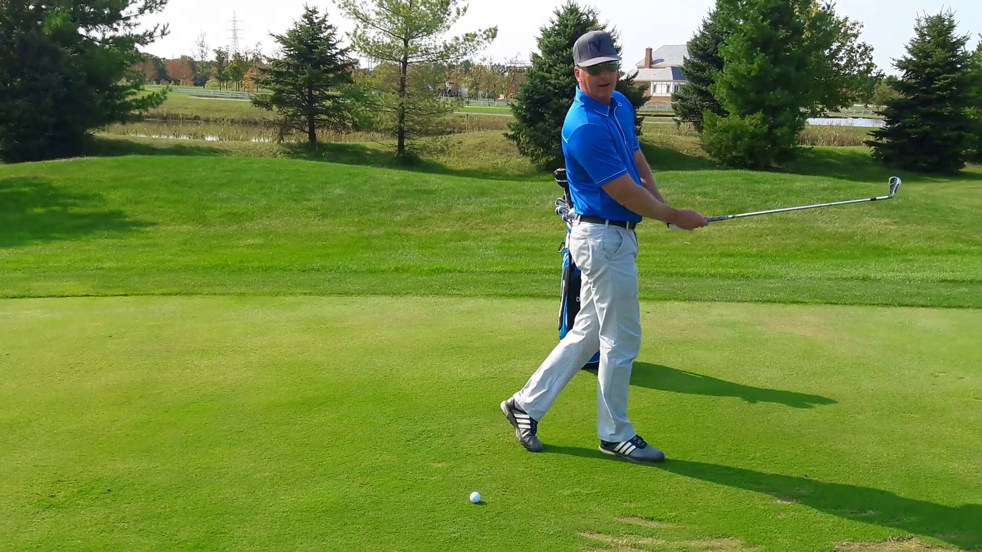 Practice Stepping Through the Shot to Perfect Weight Shift
