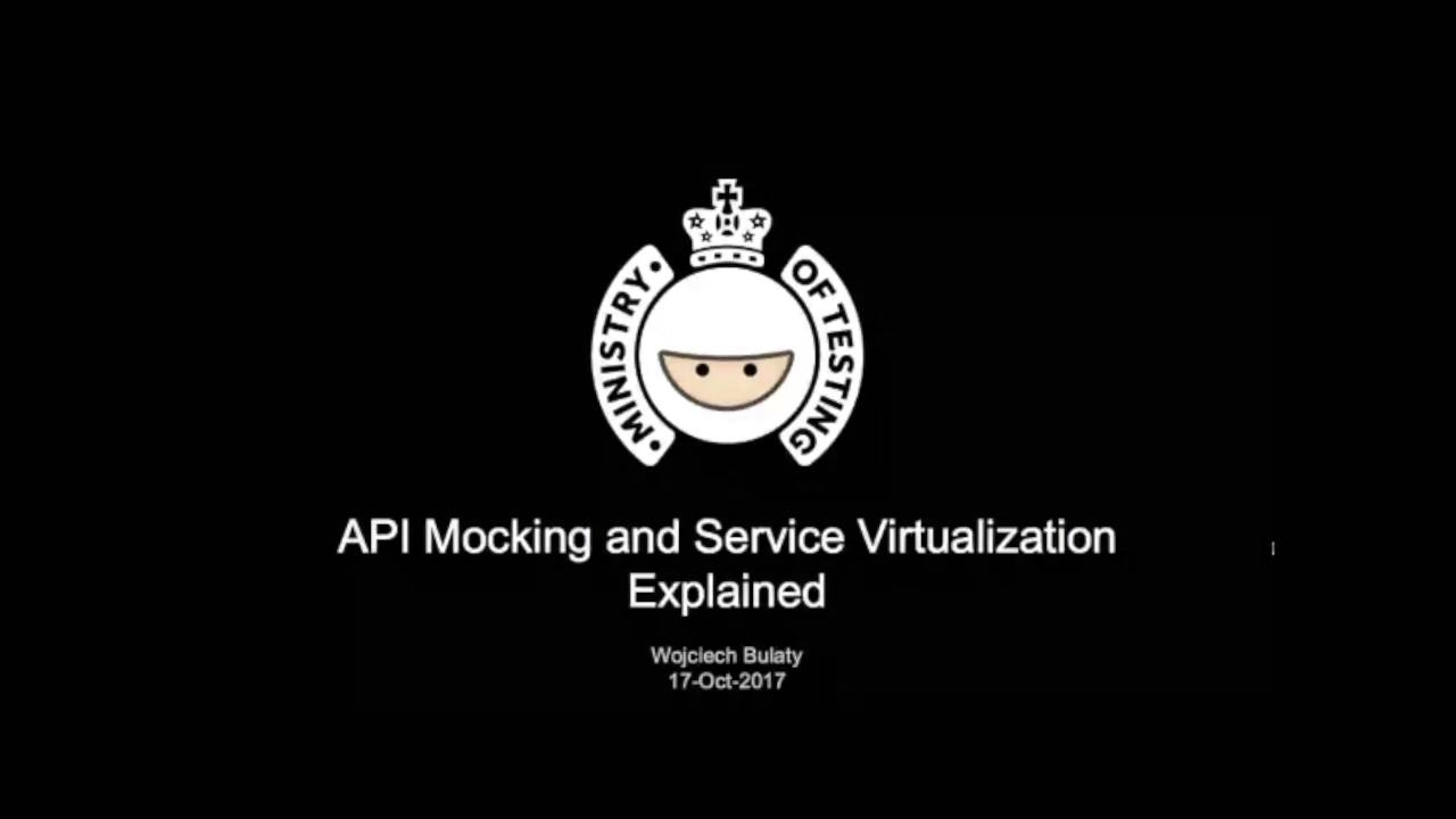 API Mocking and Service Virtualization Explained with Wojciech Bulaty