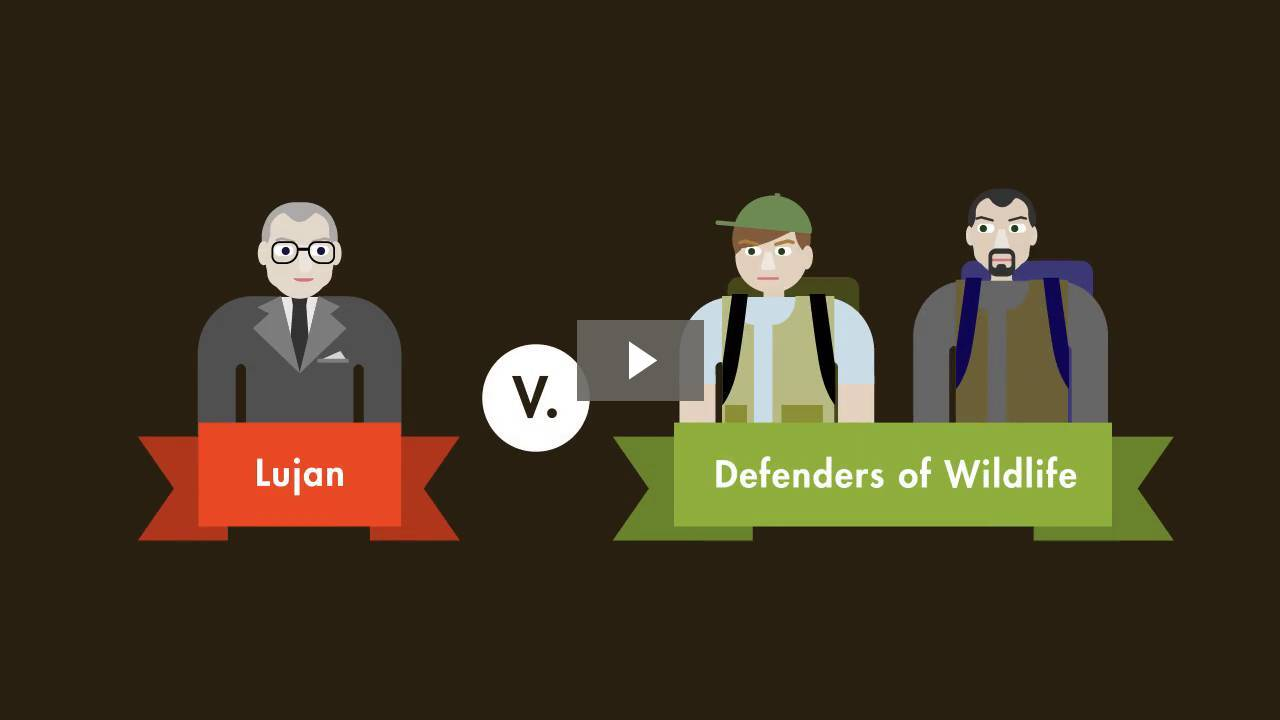 Lujan v. Defenders of Wildlife