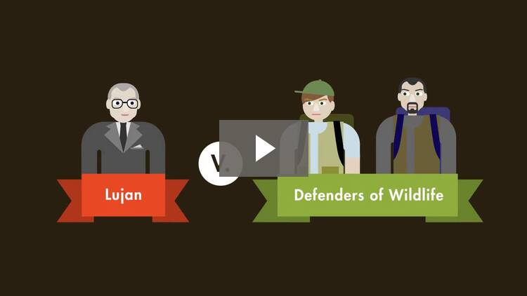 Lujan v. Defenders of Wildlife