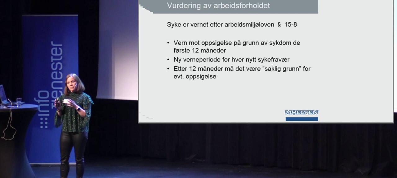 Se gratis foredrag: Slik halverte Moelven Modus sykefraværet