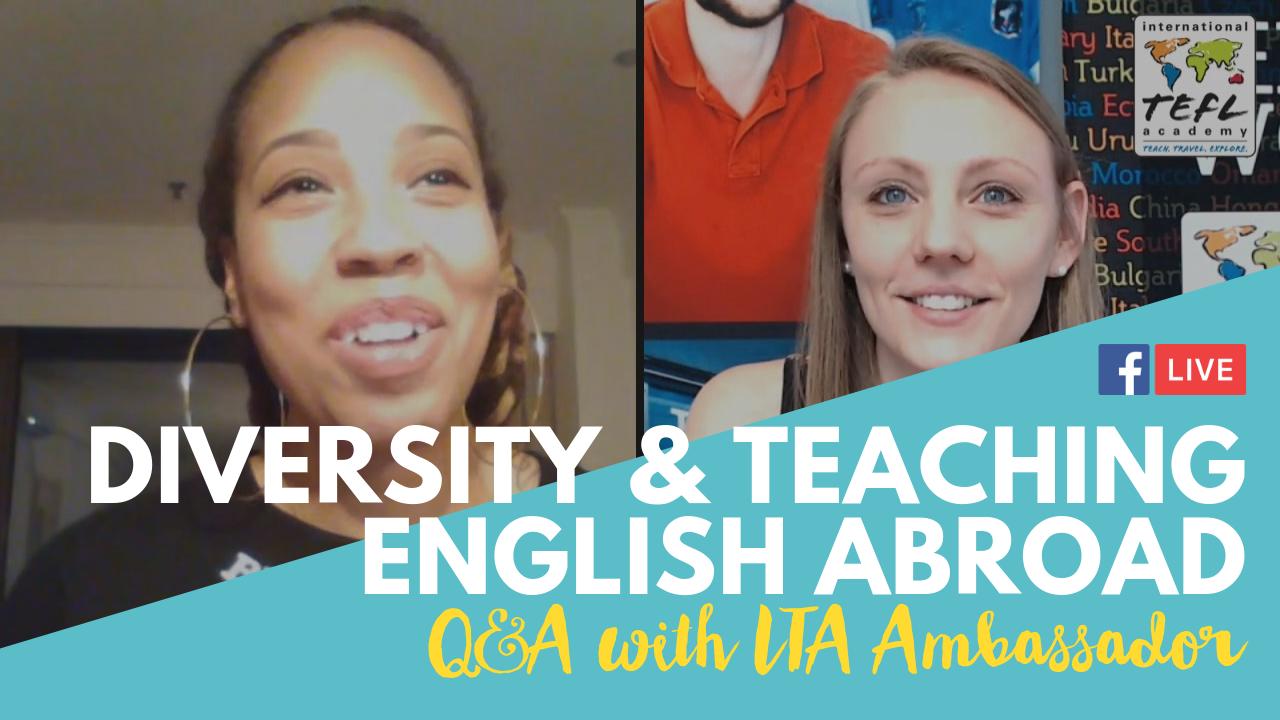 Diversity & Teaching English Abroad - Alumni Q&A with Jessica Stanton