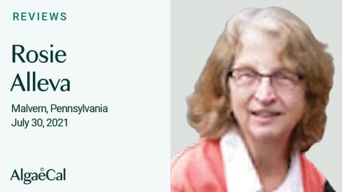 Testimonial thumbnail portrait of Rosie Alleva