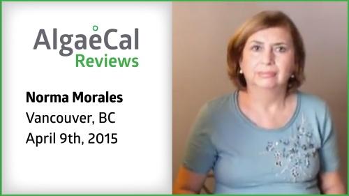 Testimonial thumbnail portrait of Norma Morales