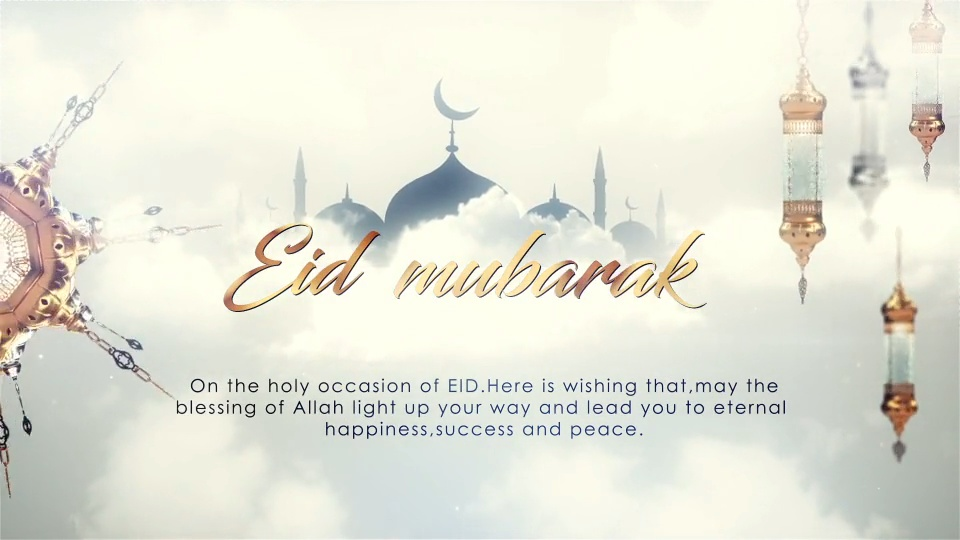 10 Top Ramadan And Eid Video Graphics Project Templates For After Effects How To