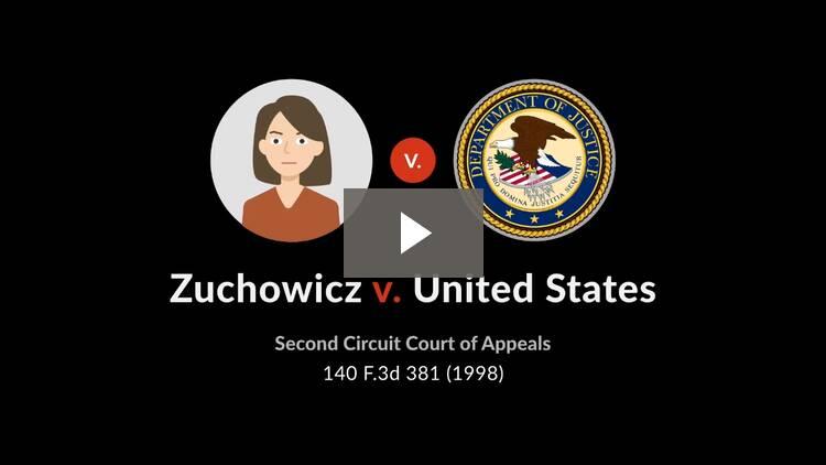 Zuchowicz v. United States