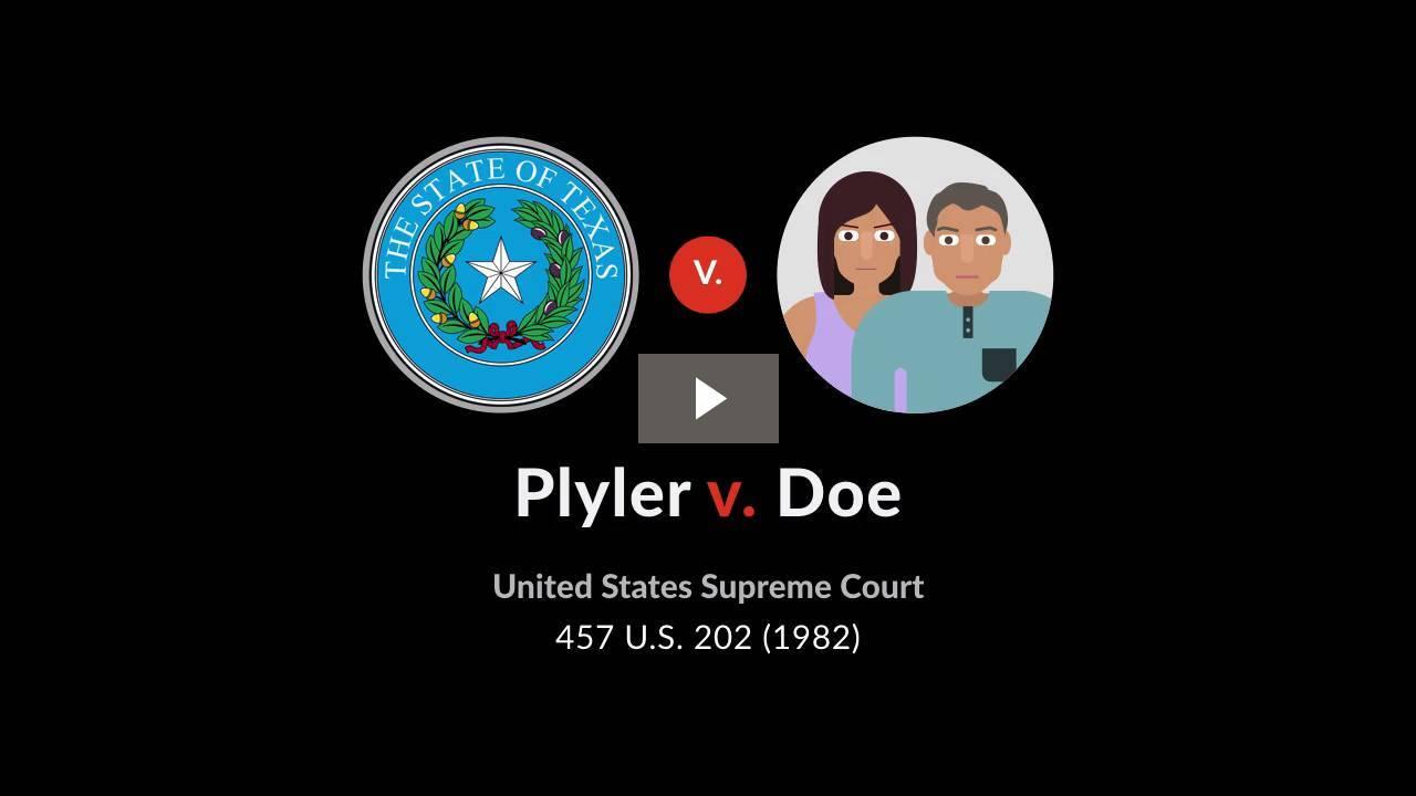 Plyler v. Doe