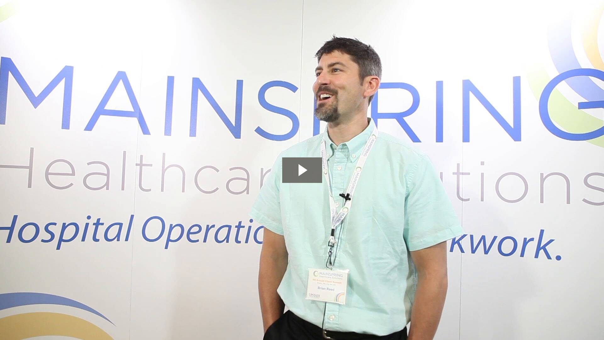 Brian Reed, Manager of Central Equipment Services at SUNY Upstate University Hospital talks about delivering award-winning service to nurses.