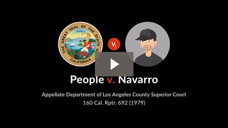 People v. Navarro