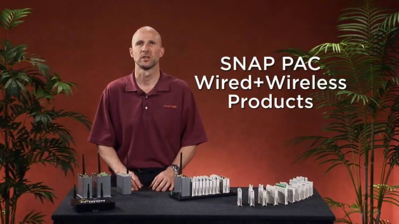 SNAP PAC Wired+Wireless Products - OptoMinute