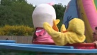 Families turn out for annual Moffat Duck Race