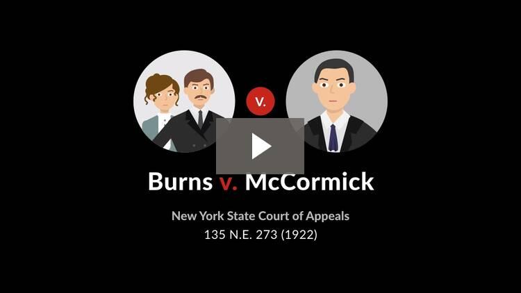 Burns v. McCormick