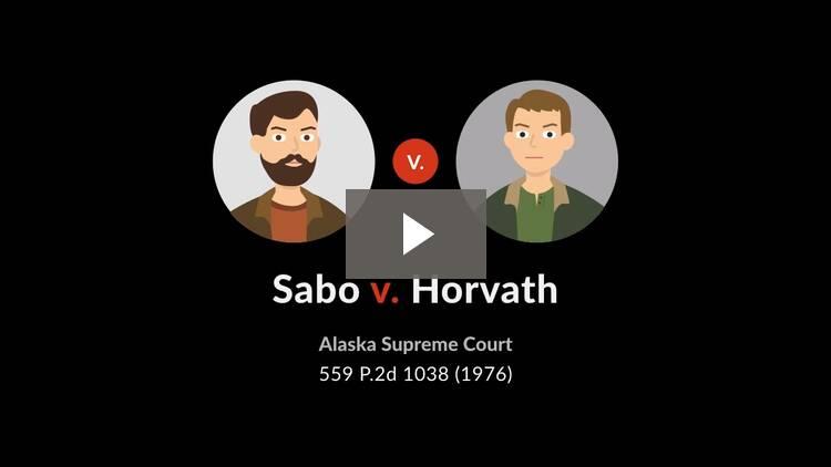 Sabo v. Horvath
