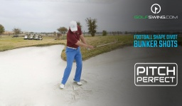 Pitch Perfect - Bunkers: Football Shape Divots