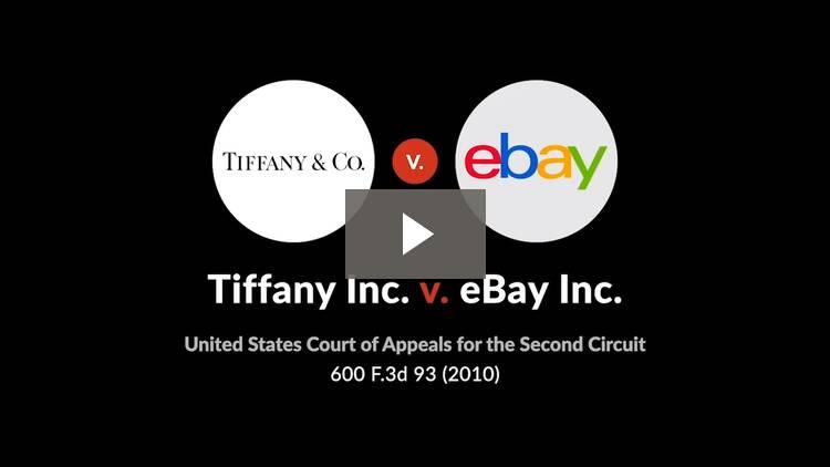 Tiffany (NJ), Inc. v. eBay, Inc.