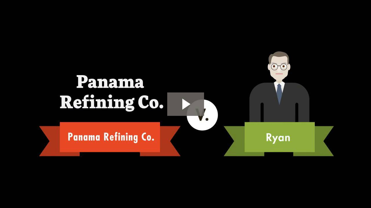 Panama Refining Co. v. Ryan