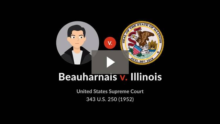 Beauharnais v. Illinois