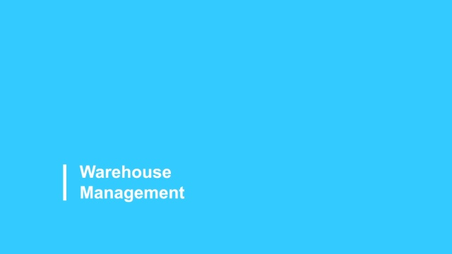 Warehouse Management 2021