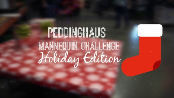 Peddinghaus Mannequin Challenge - Holiday Edition