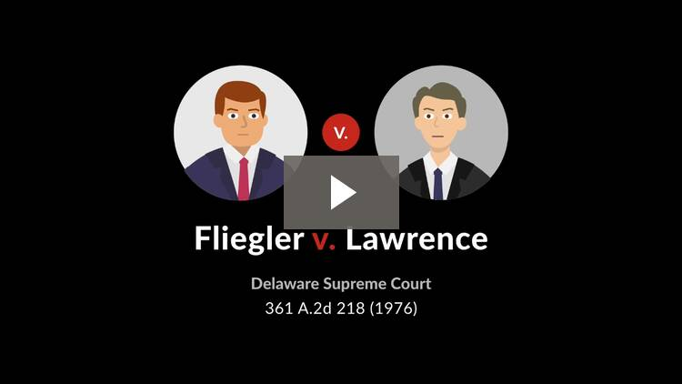 Fliegler v. Lawrence