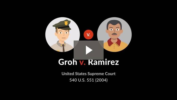 Groh v. Ramirez
