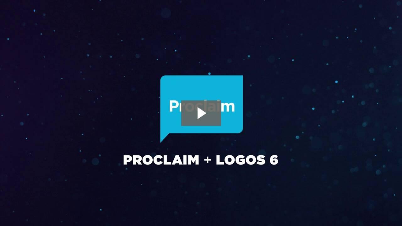Explore Proclaim (with Visual Copy)