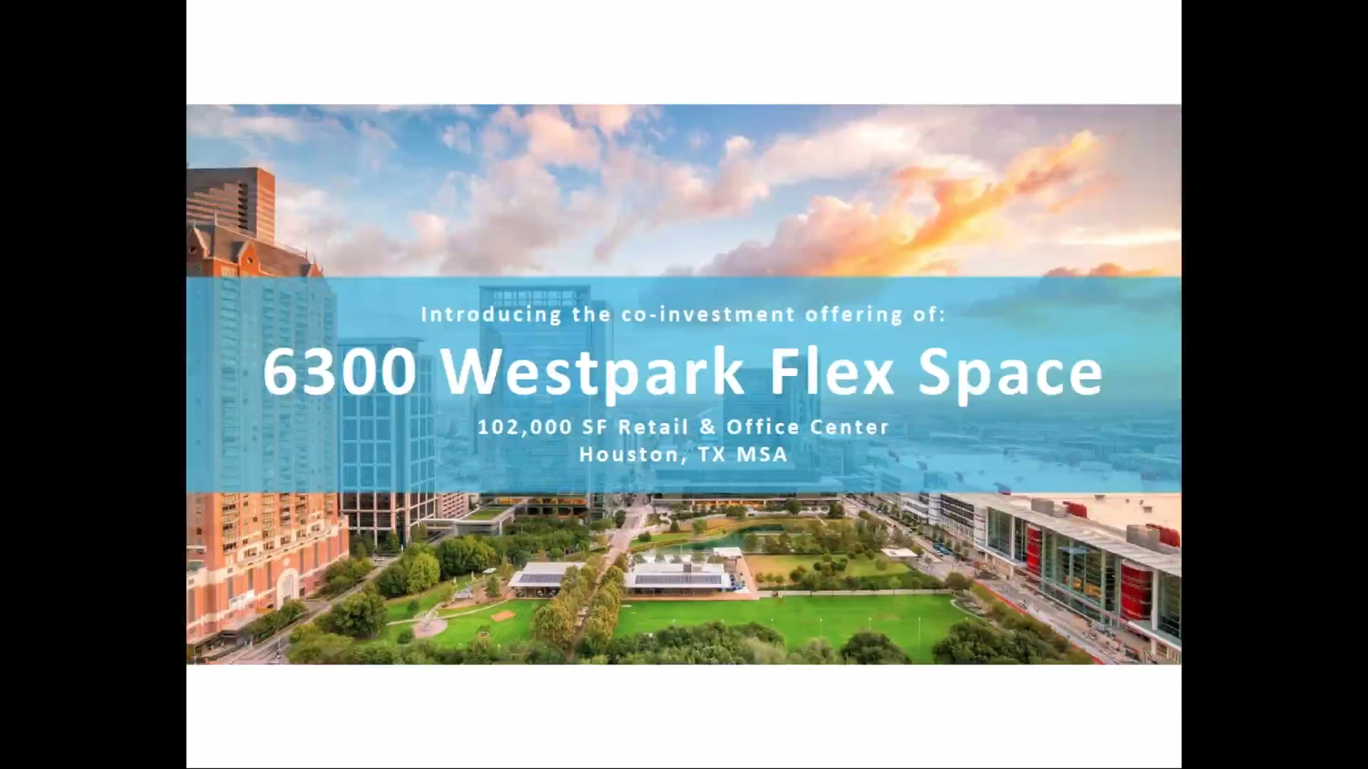 Investment Video - 6300 Westpark