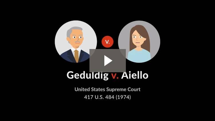Geduldig v. Aiello