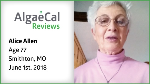 Testimonial thumbnail portrait of Alice Allen