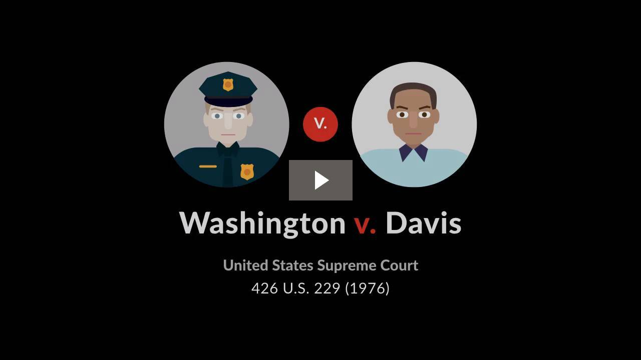 Washington v. Davis