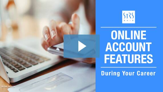 Thumbnail for the 'Online Personal Account Features — During Your Career' video.
