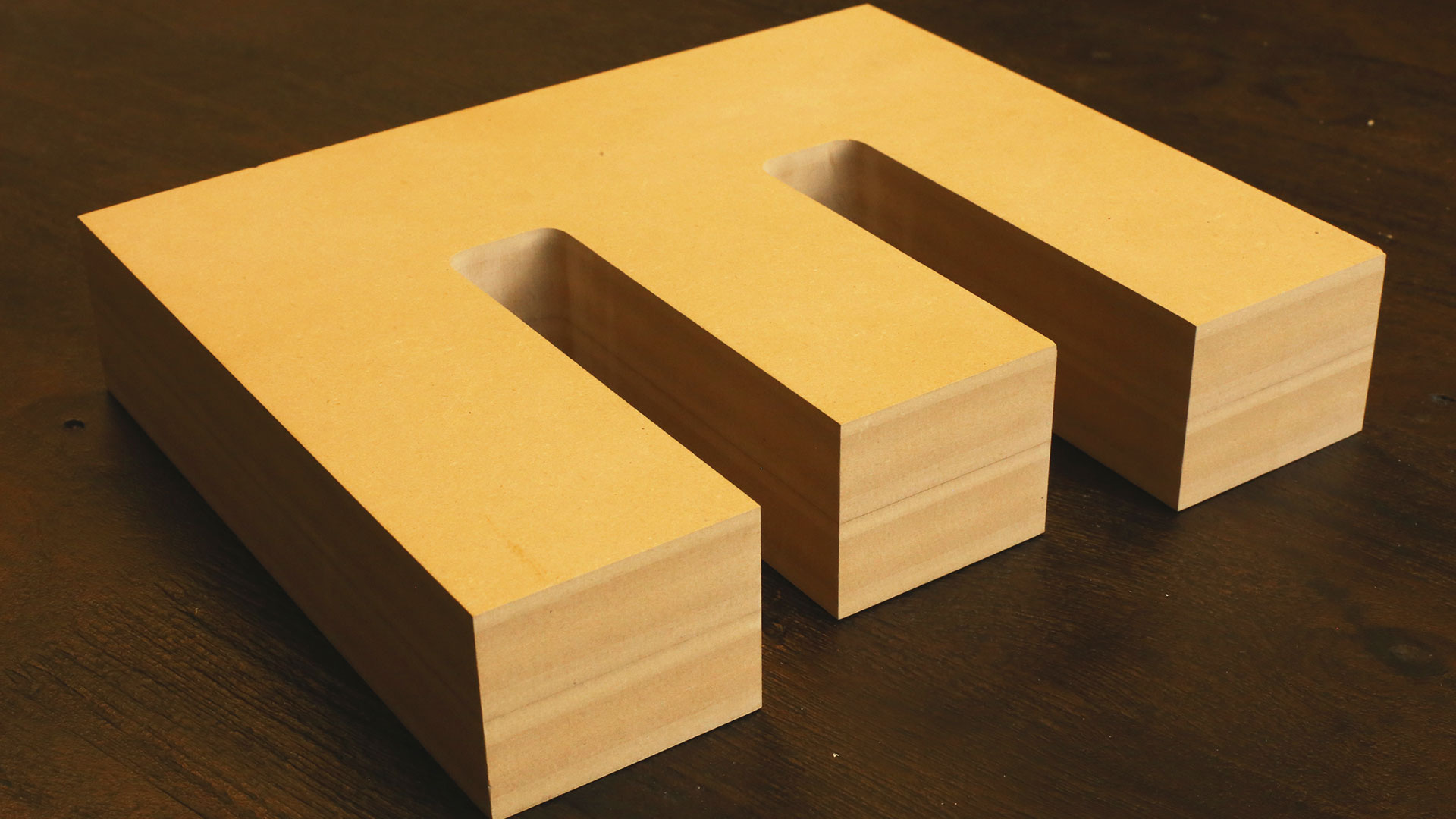 Thick Wood Letters - Any Font. Large Sizes. | Woodland Manufacturing