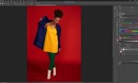 Thumbnail for In Studio Shoot / Split Complementary Retouch