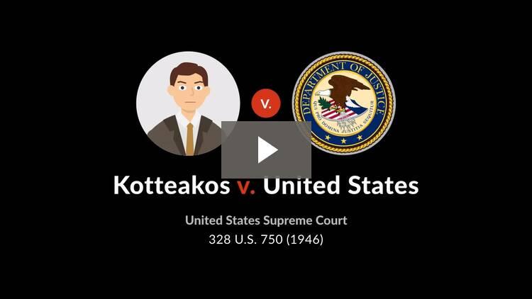 Kotteakos v. United States