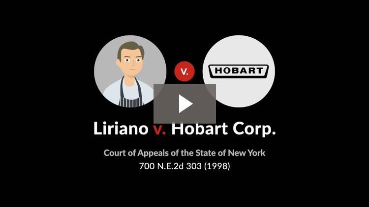 Liriano v. Hobart Corp.