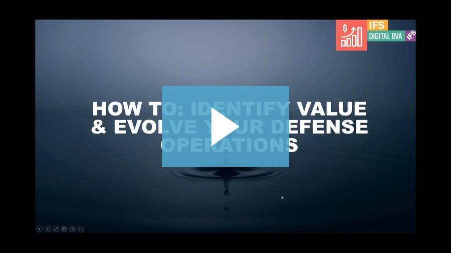 How to: Identify value, evolve your defense operations