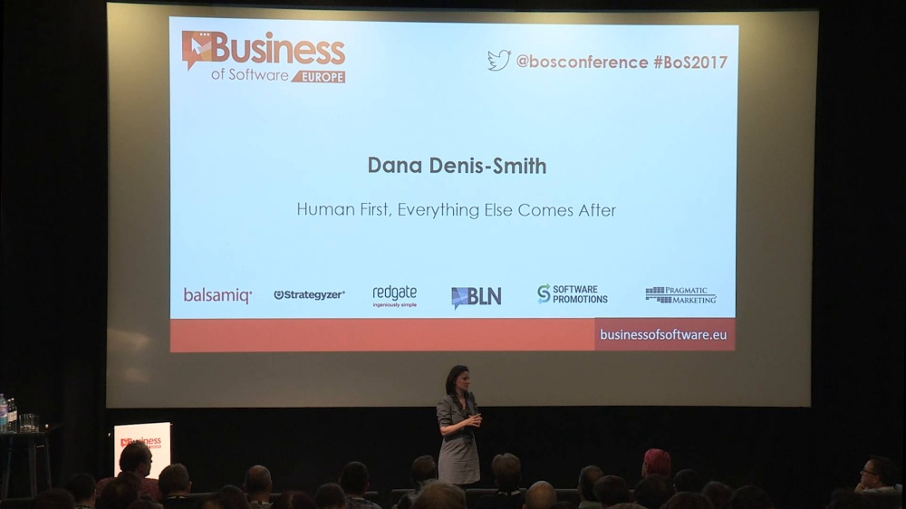 Human First, Everything Else Comes After | Dana Denis-Smith, Obelisk Support | BoS Europe 2017