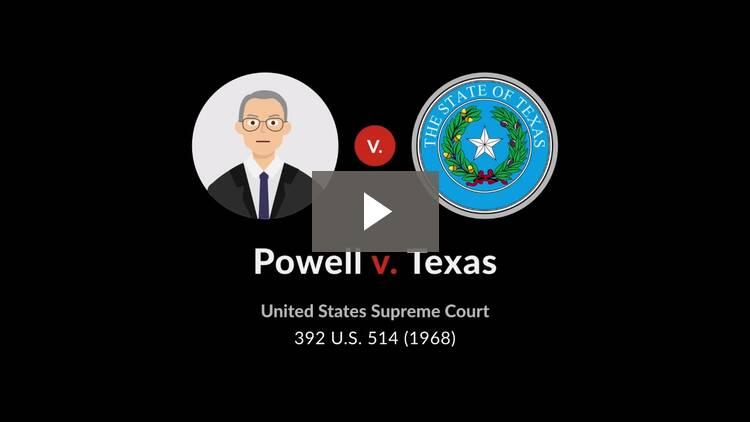 Powell v. Texas