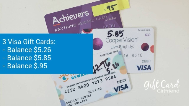What To Do With Small Balance On A Gift Card Or A Visa Gift Card Giftcards Com