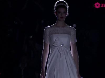 Vestidos de noiva com laços: coleções 2014