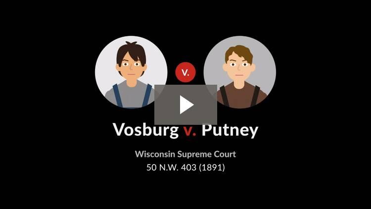 Vosburg v. Putney