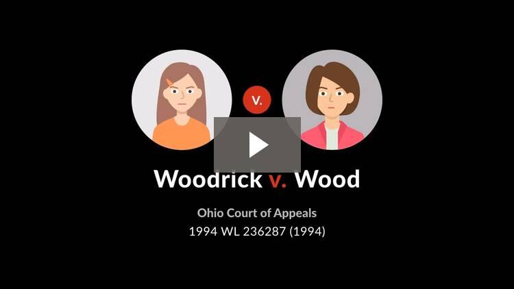 Woodrick v. Wood