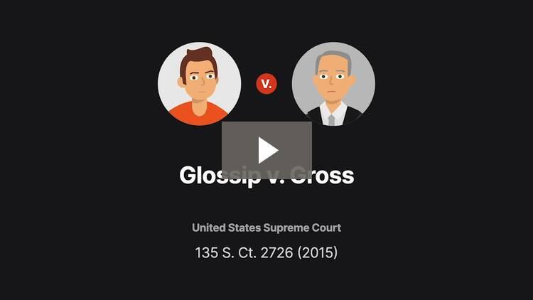 Glossip v. Gross