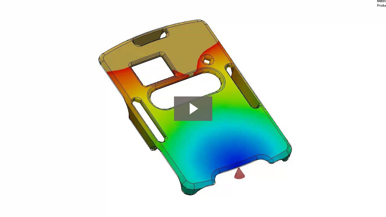 Injection Mold Flow Analysis With Solidworks Plastics