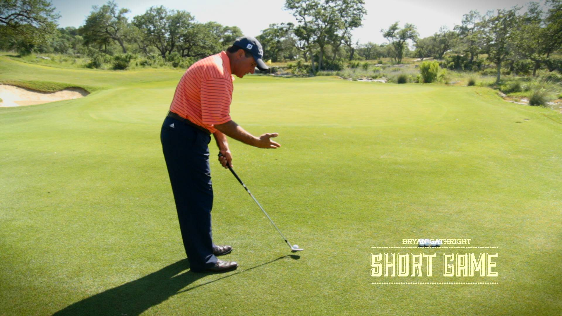 Hit High Wedge Shots with Correct Set-up