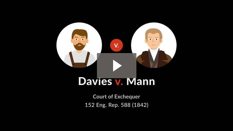 Davies v. Mann