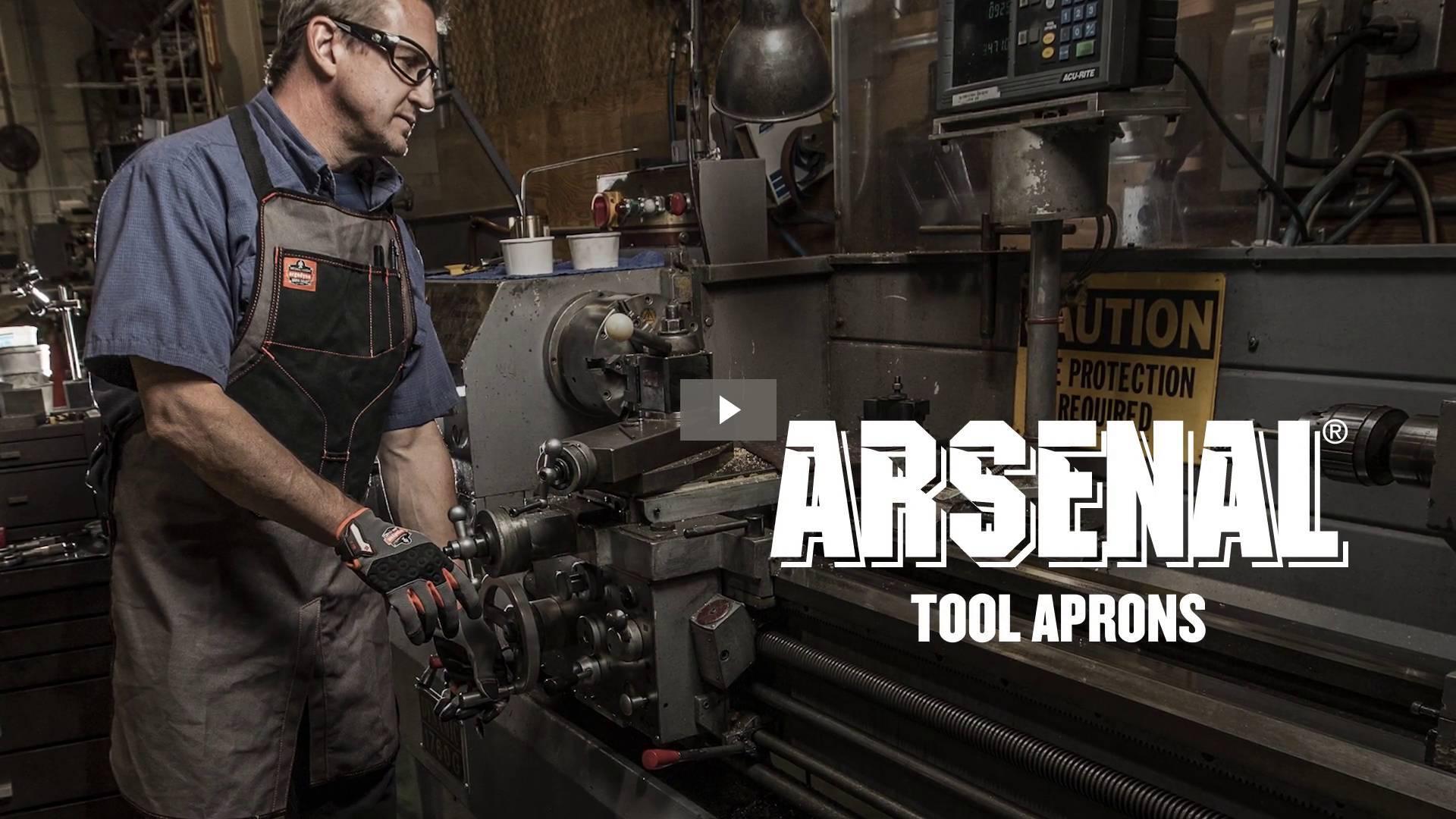 Ergodyne Product Video - Arsenal<sup>®</sup> 5707 Canvas Waist Apron