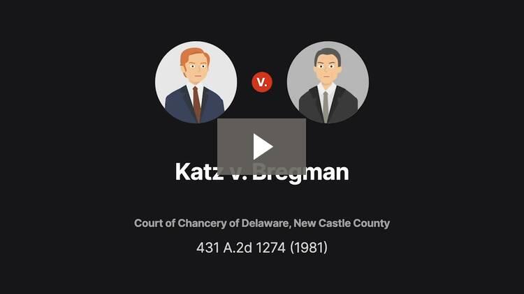 Katz v. Bregman