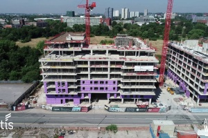Adelphi Wharf Phase 3 - Drone Footage - July 2018