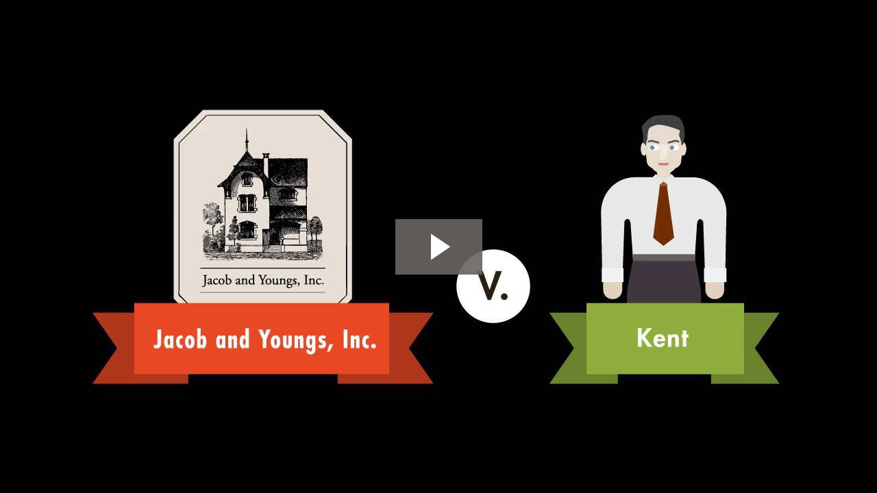 Jacob & Youngs v. Kent
